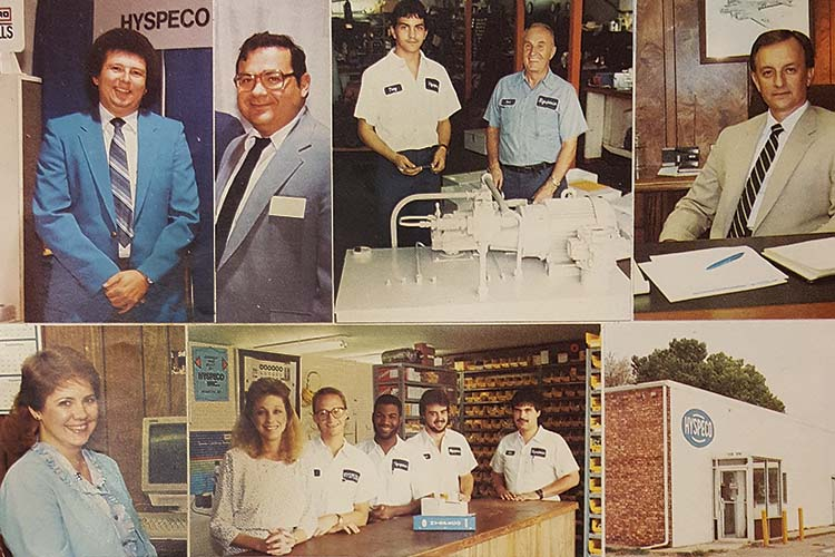 Image of Hyspeco in the 1980's