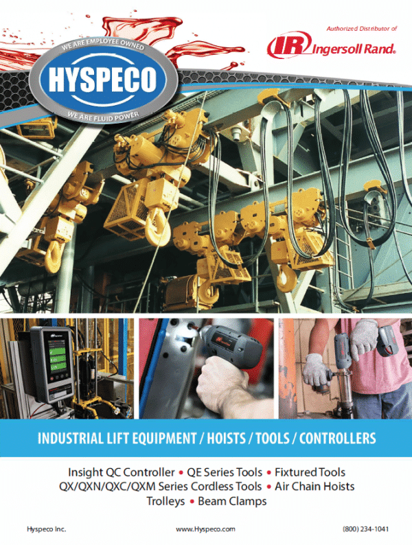Industrial Lift Equipment Line Card Image