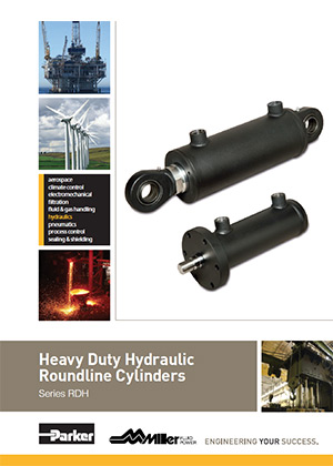 Parker Round Line Hydraulic Cylinders Catalog Cover